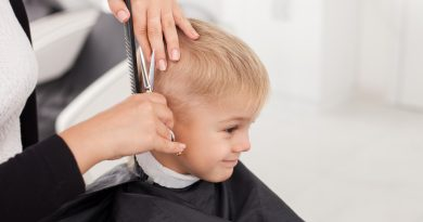 Fryzjer dla małych dzieci