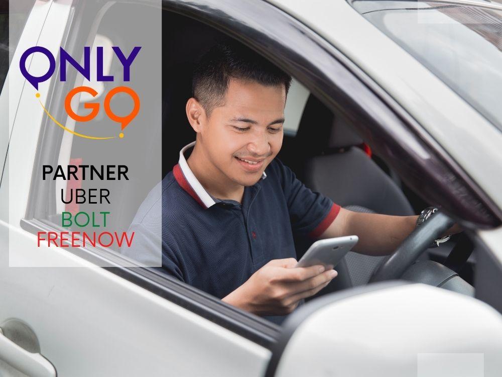 OnlyGo - praca dla kierowców Uber, Bolt